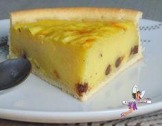 Flan pâtissier aux pépites de chocolat -Yumelise - recettes de cuisine