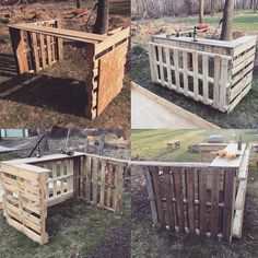 DIY project building my tiki Bar from Pallets, so far so good still got work to do but should be done by the weekend.