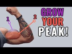 How to Grow Your Biceps Peak (4 Science-Based Tips) - YouTube