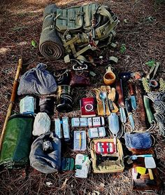 Survival Gear #bushcraftideas