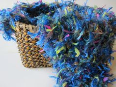 Royal Blue baby wrap blanket nest photo prop by SticksnStrings, $18.00