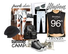 #like a rock by noke-style on Polyvore featuring polyvore, fashion, style, Truly Madly Deeply, One Teaspoon, Converse, Coach, Laundromat and Ray-Ban