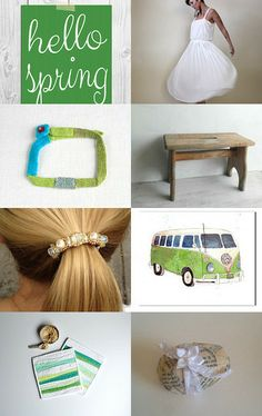 Hello Spring Freshness! by Lelaine on Etsy--Pinned with TreasuryPin.com