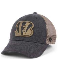 '47 Brand Cincinnati Bengals Summerland Contender Flex Cap - Black L/XL