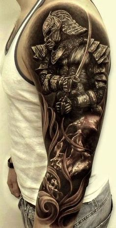 There are thousands of years of history behind every Samurai tattoo, so everything has to be done perfectly. Here are 70 great samurai tattoo designs.