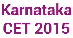 KCET 2015 second round allotment declared