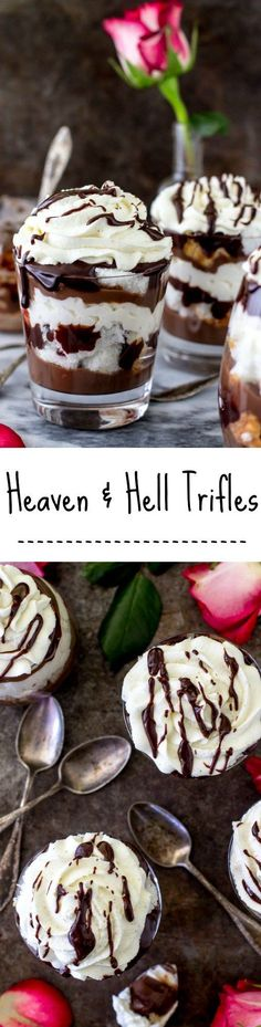 Heaven and Hell Trifles -- SugarSpunRun