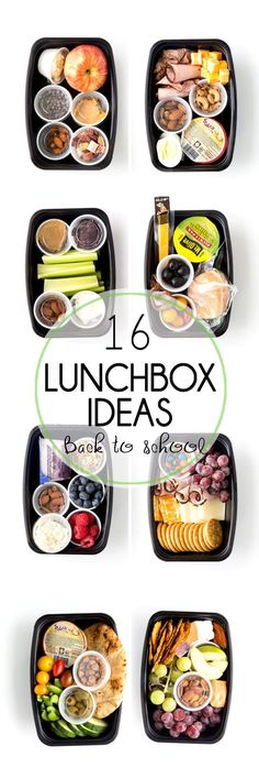 Eat Stop Eat To Loss Weight - Lunchbox ideas for back to school that adults will want to eat too. In Just One Day This Simple Strategy Frees You From Complicated Diet Rules - And Eliminates Rebound Weight Gain Lunch To Go, Lunch Meal Prep, Healthy Meal Prep, Healthy Snacks, Healthy Eating, Healthy Recipes, Lunch Time, Healthy Togo Lunches, Healthy Kids