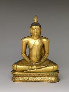 """Bhairava mudra, """"fierce gesture"""" to surrender and meditate. This majestic Buddha is one of the finest products of sixteenth-century Sri Lankan Buddhist art."""