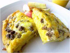 Slow Cooker Crescent Roll Breakfast Casserole | AllFreeSlowCookerRecipes.com