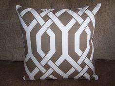 I LOVE pillows..instead of redecorating a room...change the pillows!