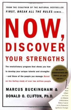 Now, Discover Your Strengths: Amazon.de: Marcus Buckingham, Donald O. Clifton: Fremdsprachige Bücher