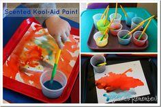 Scented Paint Kool-Aid Paint Preschool Scented Paint