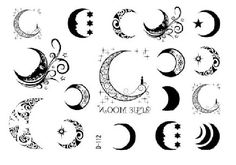 97 Best Best Moon Tattoo Designs, 39 Lovely Moon Finger Tattoos, Crescent Moon Tattoo Designs Tattoos Win, Unique Moon Tattoo Ideas Moon Tattoos for Women, the 85 Best Wolf Tattoos for Men. Cresent Moon Tattoo, Moon Star Tattoo, Half Moon Tattoo, Star Tattoos, Foot Tattoos, Temporary Tattoos, Body Art Tattoos, Sleeve Tattoos, Tatoos