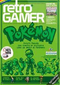Retro Gamer - N° 18 / Diciembre 2016 - Pokémon, Junichi Mazuda nos cuenta cómo se gestó