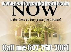 Let me help you to find your dream home! www.realtorpankajpatel.com Call: 647-760-7061