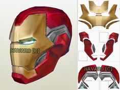 Discover recipes, home ideas, style inspiration and other ideas to try. Iron Man Helmet, Iron Man Suit, Iron Man Armor, Iron Man Logo, Iron Man Poster, Iron Man Cosplay, Cosplay Armor, Cosplay Helmet, Iron Man Pepakura