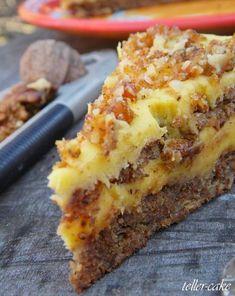 Mennyei diótorta - gluténmentes - GasztroBlogok.hu Sweet Desserts, Sweet Recipes, Dessert Recipes, Sin Gluten, Hungarian Recipes, Good Foods To Eat, Healthy Cake, Decadent Cakes, Sweet And Salty