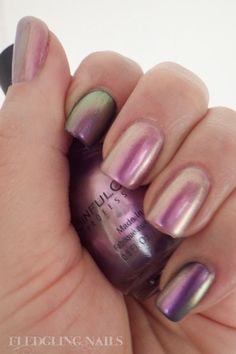 Nail Polish Swatch: Sinful Colors - Bali Mist bought this today - takes three coats for it to  look like this