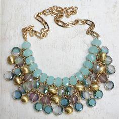 Shideh Mint Bauble Necklace