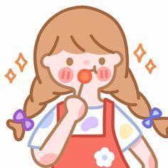 微博 Kawaii Wallpaper, Wallpaper Iphone Cute, Cartoon Wallpaper, Cute Wallpapers, Cute Journals, Doodle Art Journals, Mini Drawings, Kawaii Drawings, Cute Illustration