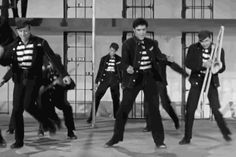 dance dancing elvis presley elvis rock n roll jail presley the king jailhouse rock #gif from #giphy