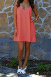 Possible birthday dress! Nothing Could Break Us Dress: Coral
