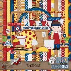 Take Out - PU/S4H/S4O [JFF_TOkit] - $3.99 : Scraps N Pieces Store