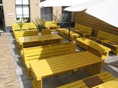Pallet furniture - Commercial