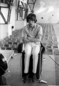 Mick Jagger | rolling stones | hot lips | young man | music | iconic | black & white |