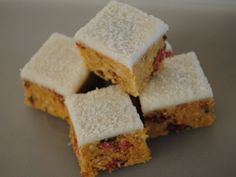 Cherry Ripe Biscuit Slice