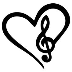 Silhouette Design Store: musical love