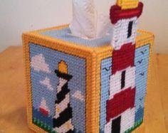 Cubierta de caja del tejido de Minnie por CedarLakeSewing en Etsy