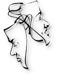 the drama masks...love !