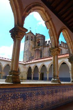 Castelo dos Templários, Tomar. Hoje o castelo abriga o Convento de Cristo. Portugal 2012