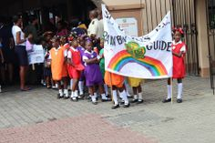 Granada's Rainbow Guides :)  Each unit has lots of different colours.