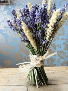 Designs will feature long lasting flowers like wheat and lavender