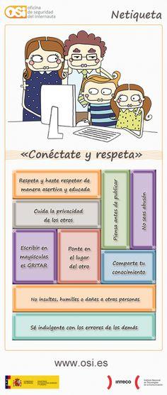 La #Educación en internet también importa #Netiqueta #CDigital_INTEF #REDucación http://www.chaval.es/chavales/educacion/10-consejos-de-netiqueta-la-educación-en-internet-también-importa