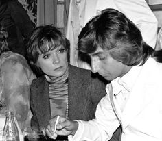 Shirley MacLaine and Barry Manilow during Barry Manilow Receives Ruby Award from After Dark Magazine - April 26, 1976