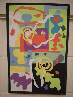 WHAT'S HAPPENING IN THE ART ROOM??: 2nd Grade Matisse Collage