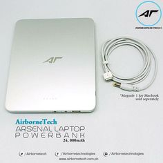 Recharge your laptop and smartphones anytime, anywhere with the AT Arsenal Laptop Powerbank! 50% off at lazada.com.ph and takatack.com.ph