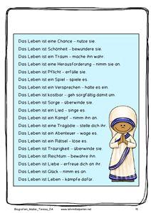 Biografie Mutter Teresa