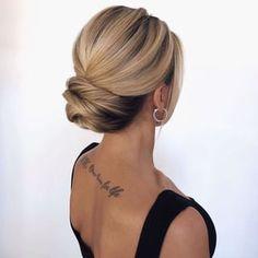 Long Hair Wedding Styles, Wedding Hair And Makeup, Bridal Hair, Long Hair Styles, Bride Hairstyles, Pretty Hairstyles, Hairstyle Ideas, Ponytail Hairstyles Tutorial, Sleek Hairstyles