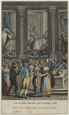 """""""La terrible nuit du 5 au 6 octobre 1789"""""""