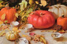 "Daniel Keys - ""Pumpkins""- Oil - Painting entry - December 2009 ..."