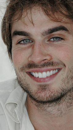 His smile.