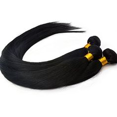 Moresoo 3bundles 24inch Jet black 1# Hair Weave, Silky Straight Brazilian 101% Unprocessed Real Human Hair Weaving Extensions Moresoo http://www.amazon.co.uk/dp/B00WYE3EKS/ref=cm_sw_r_pi_dp_8dVvvb09TN73S Welcome to order it from our Amazon store. I will appreciate your support.