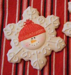 snowflake snowman
