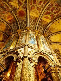 A Charola do Convento de Cristo em Tomar absolutamente espectacular | Portugal