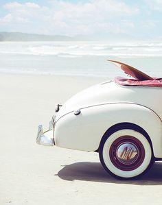 white wheels...blue ocean...sweet!...cheers!Wheels